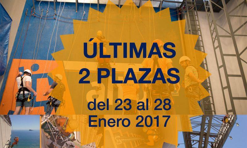 Curso trabajos verticales Alicante