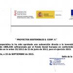 Ayuda Fondo Social Europeo 2015