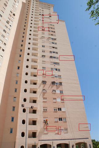 Altur trabajos verticales alicante antes altur - Trabajos verticales en alicante ...