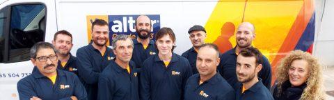 Altur Cooperativa, desde 1993. Un equipo con experiencia.