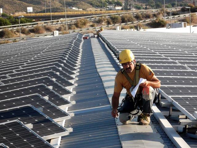 Tram alicante paneles fotovoltaicos altur - Trabajos verticales en alicante ...