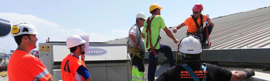 Curso de Trabajos en Altura sobre Cubiertas, Torres y Antenas