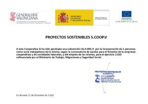 Subvencion socios 2.020 fran